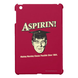 Aspirin: Make Morning Class Possible Cover For The iPad Mini
