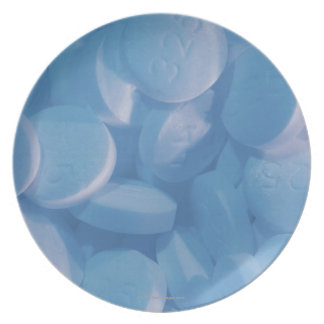 Aspirin Party Plate