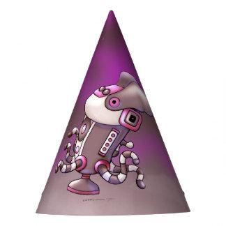 ASPIRO DUST CARTOON ROBOT  PARTY HAT