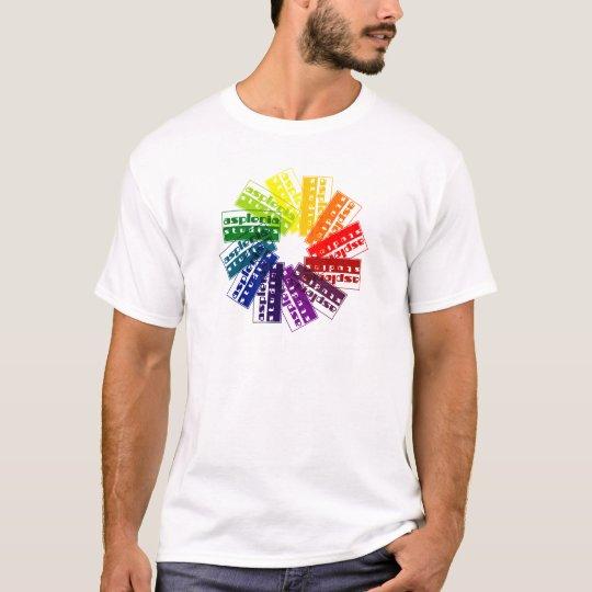Asplenia Colour Wheel T-Shirt