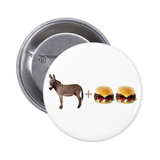 Ass Burgers Pinback Buttons