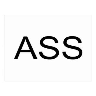Ass Postcard