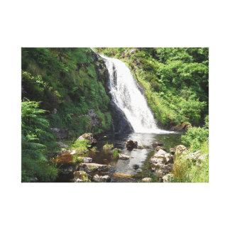 Assaranca Waterfall, Ireland Canvas Print