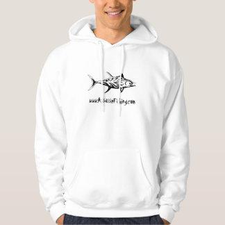 Assassin Fishing - Tribal Tuna Logo Hoodie