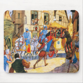 Assassinat de Henri IV par Ravaillac Mouse Pad