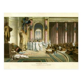Assassination of Julius Caesar Postcard