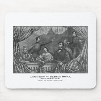 Assassination of President Lincoln Mouse Pad
