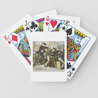 Assassination of 'Wild Bill' (W.B. Hickok) by Jack Bicycle Playing Cards