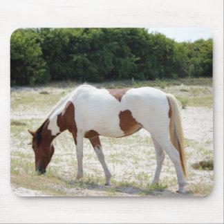 Assateague Island horse Mouse Mat