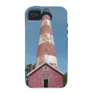 Assateague Island Lighthouse Looking Up Case-Mate iPhone 4 Cover