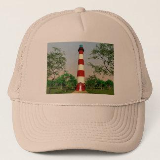 Assateague Lighthouse, Virginia Trucker Hat