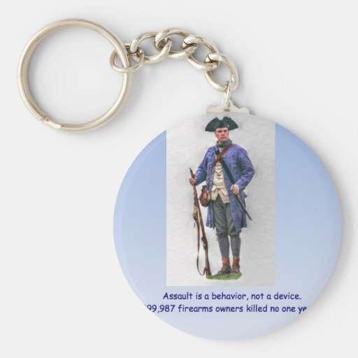 ASSAULT IS A BEHAVIOR NOT A DEVICE KEYCHAIN