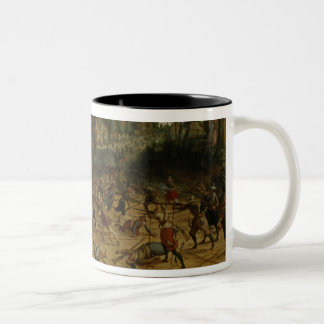 Assault on a Town (oil on canvas) Mugs