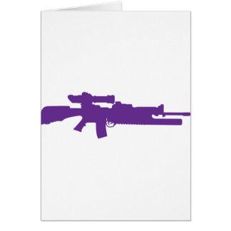 Assault Rifle Cards