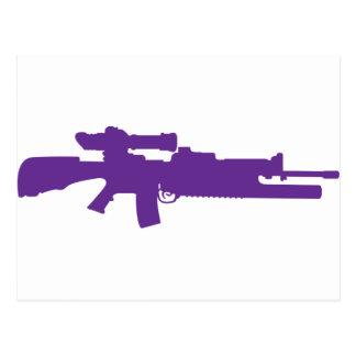 Assault Rifle Postcards