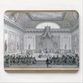 Assemblee des Notables Presided over by Louis Mouse Pad