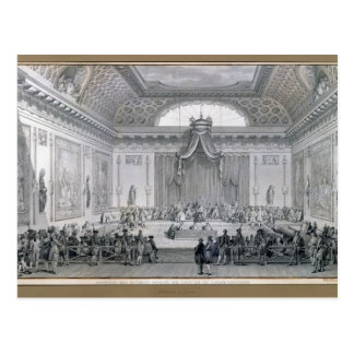 Assemblee des Notables Presided over by Louis Postcard