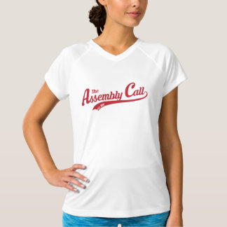 Assembly Call Women's Fitted Performance V-Neck T T-Shirt