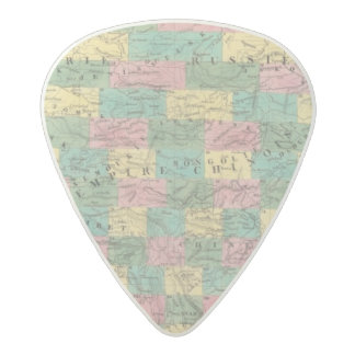 Assembly Map of Asia Acetal Guitar Pick