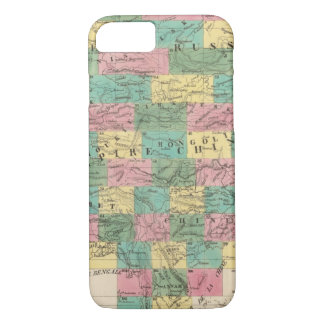 Assembly Map of Asia iPhone 8/7 Case
