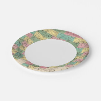 Assembly Map of Asia Paper Plate