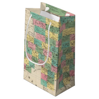 Assembly Map of Asia Small Gift Bag