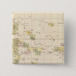 Assembly Map of Oceania 15 Cm Square Badge