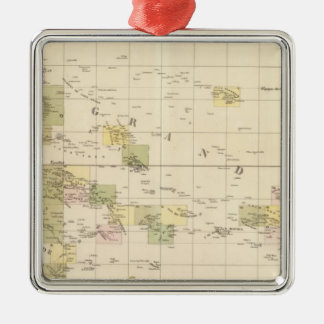 Assembly Map of Oceania Christmas Ornament