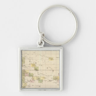 Assembly Map of Oceania Key Ring