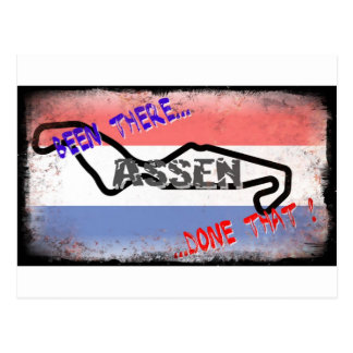 Assen - Been there done that Postcard