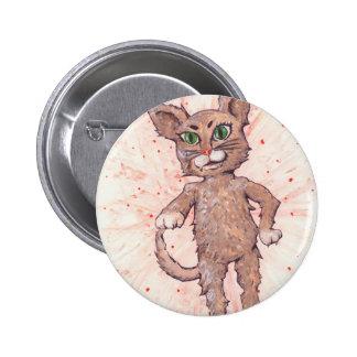 Asserive Cat 6 Cm Round Badge