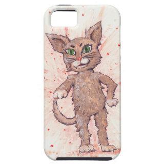 Assertive Cat iPhone 5 Cover