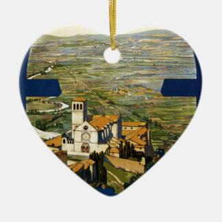 Assisi Christmas Ornament