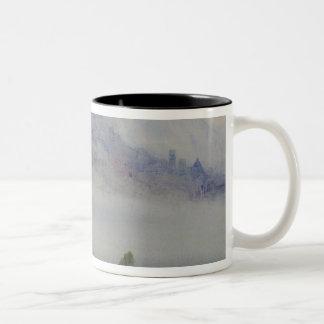 Assisi, Early Morning Two-Tone Coffee Mug