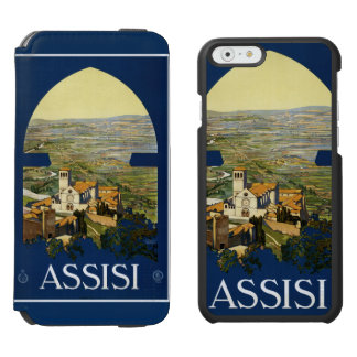 Assisi Italy vintage travel cases Incipio Watson™ iPhone 6 Wallet Case