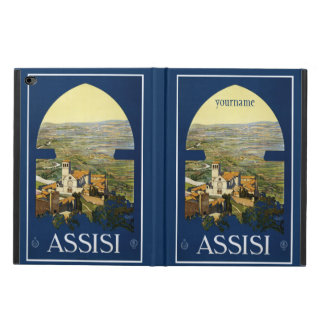 Assisi Italy vintage travel device cases