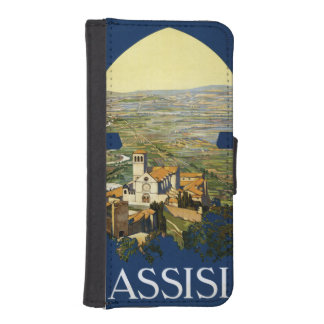 Assisi Italy vintage travel phone wallets