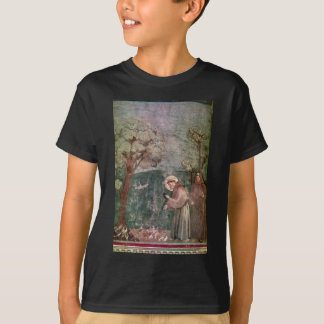 Assisi, portrait of St Francis and the birds T-Shirt