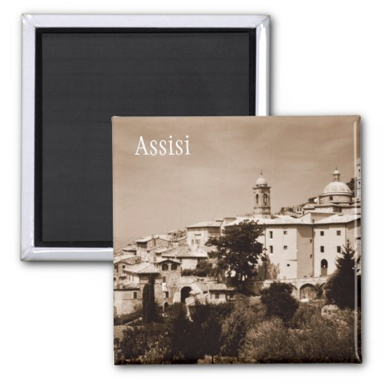 Assisi Square Magnet