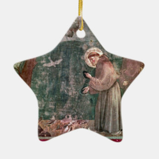 Assisi, St Francis and the birds Christmas Ornament