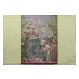 Assisi, St Francis and the birds Placemat