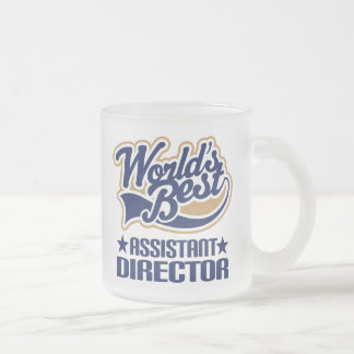 Assistant Director Gift Frosted Glass Coffee Mug