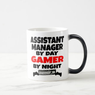 Assistant Manager by Day Gamer by Night Magic Mug