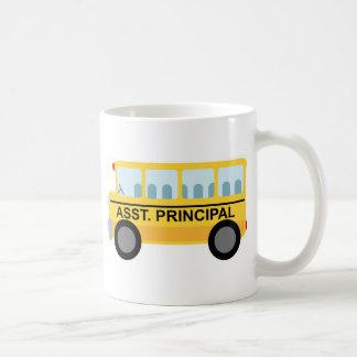 Assistant Principal (School Bus) Gift Basic White Mug