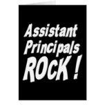 Assistant Principals Rock! Greeting Card