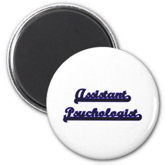Assistant Psychologist Classic Job Design 6 Cm Round Magnet