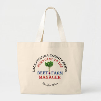 Assistant to the Beet Farm Manager Canvas Bag