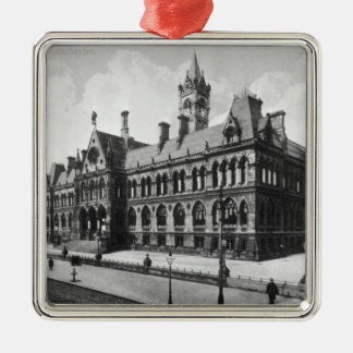 Assize Courts, Manchester, c.1910 Christmas Ornament