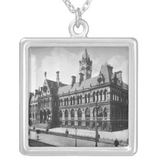 Assize Courts, Manchester, c.1910 Silver Plated Necklace