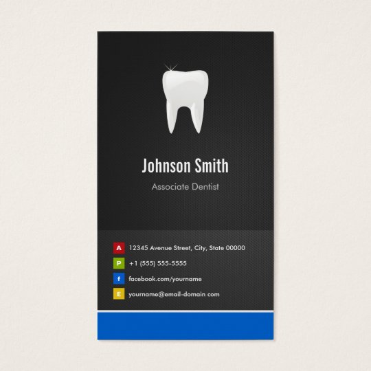 Associate Dentist - Dental Creative Innovative Business Card